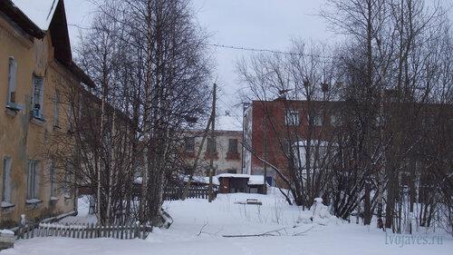 Фото города Инта №2811  Коммунистическая 5 и 22 (школа №3) 31.01.2013_13:29