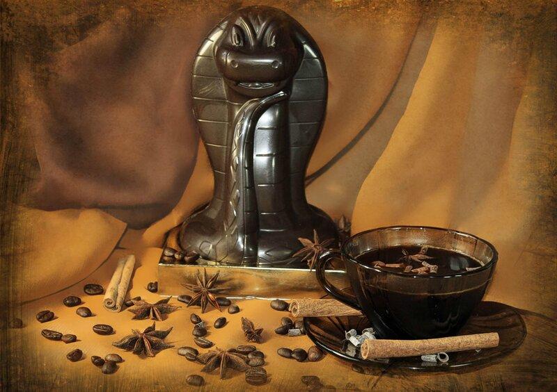 Змея в шоколаде
