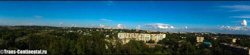 Панорама Хабаровска с Вороньего гнезда