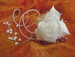 Ободок для невесты Кади
