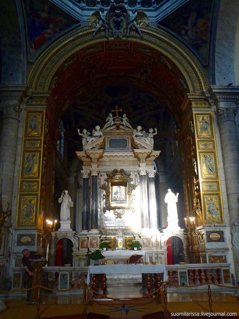 Roma. Basilica di Santa Maria del Popolo.