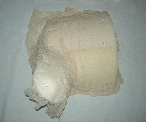 Курьи ножки из поролона -обтягиваем тканью