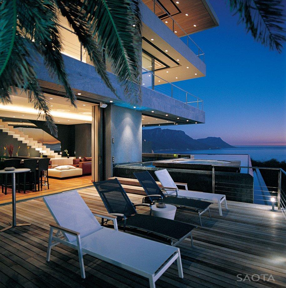 Особняк для вечеринок в Кейптауне от SAOTA