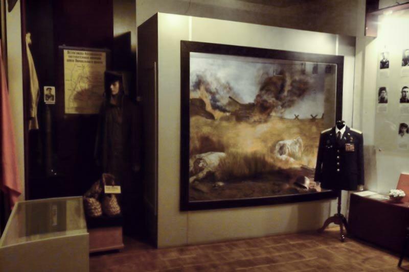 Экспозиция краеведческого музея г. Бирюч