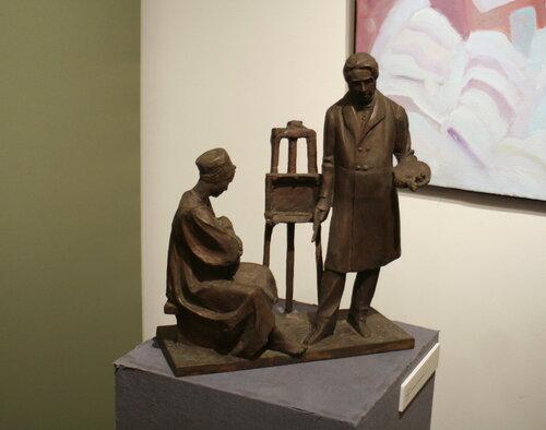 Выставка Олега Комова, Ильи и Алексея Комовых