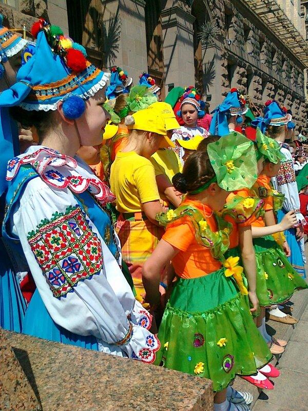 Участники танцевального фестиваля