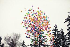1000 шаров в небо