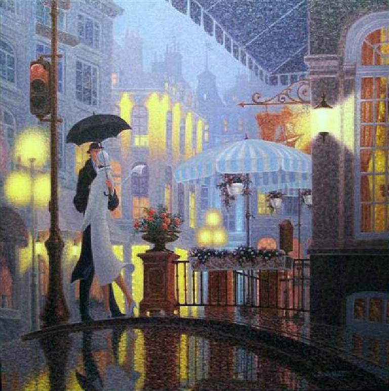 Романтическая живопись художника Denis Nolet, Канада