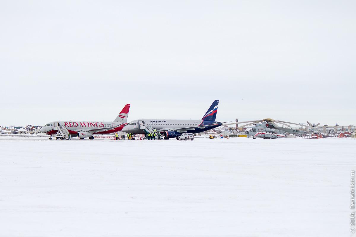 аэропорт саратов embraer ssj аэрофлот 12