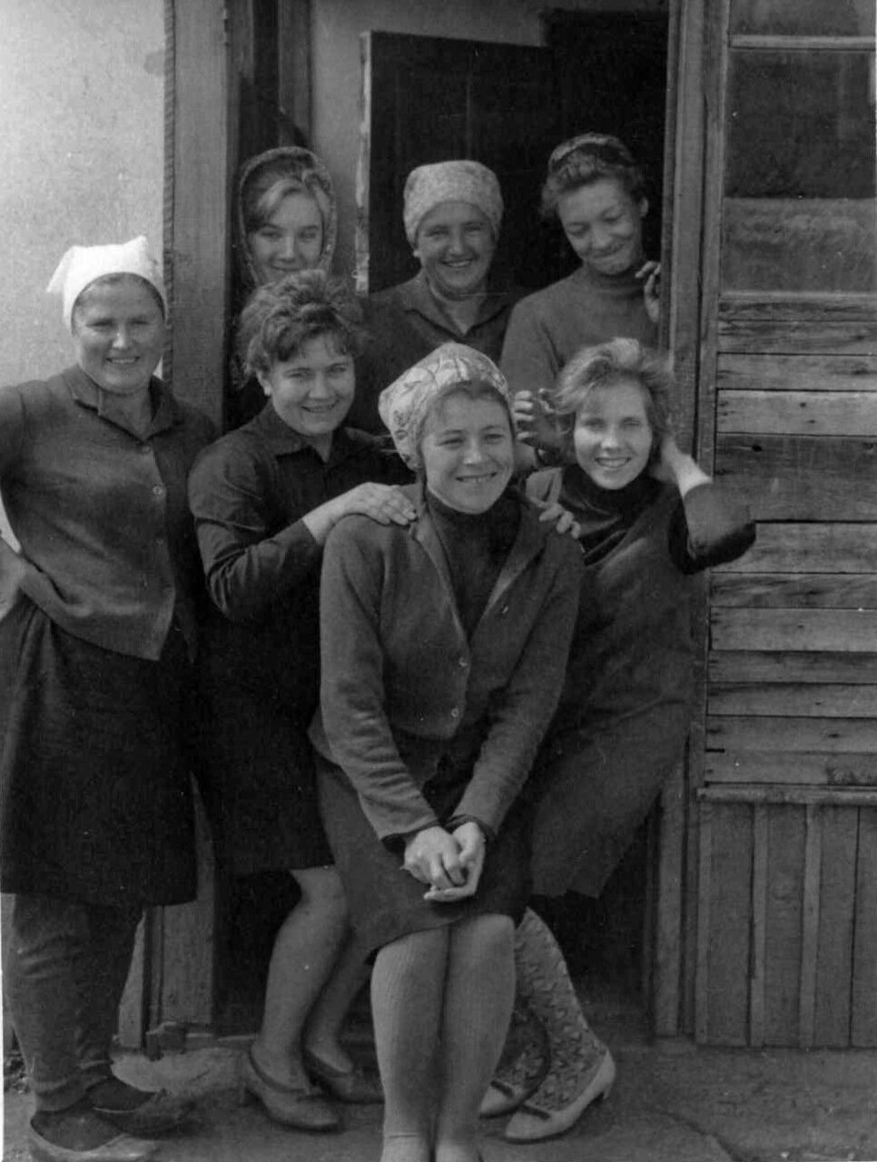 Сельский РАЙПО. Посёлок Ремовский Алтайского края. 1969 год.