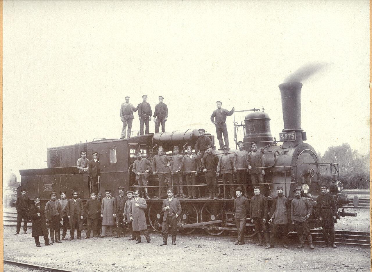 1907, февраль. В память совместного служения. Депо Елисаветполя