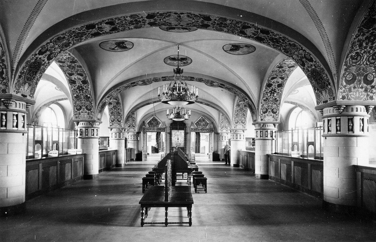 Государственный банк на Большой Покровской. Интерьер.