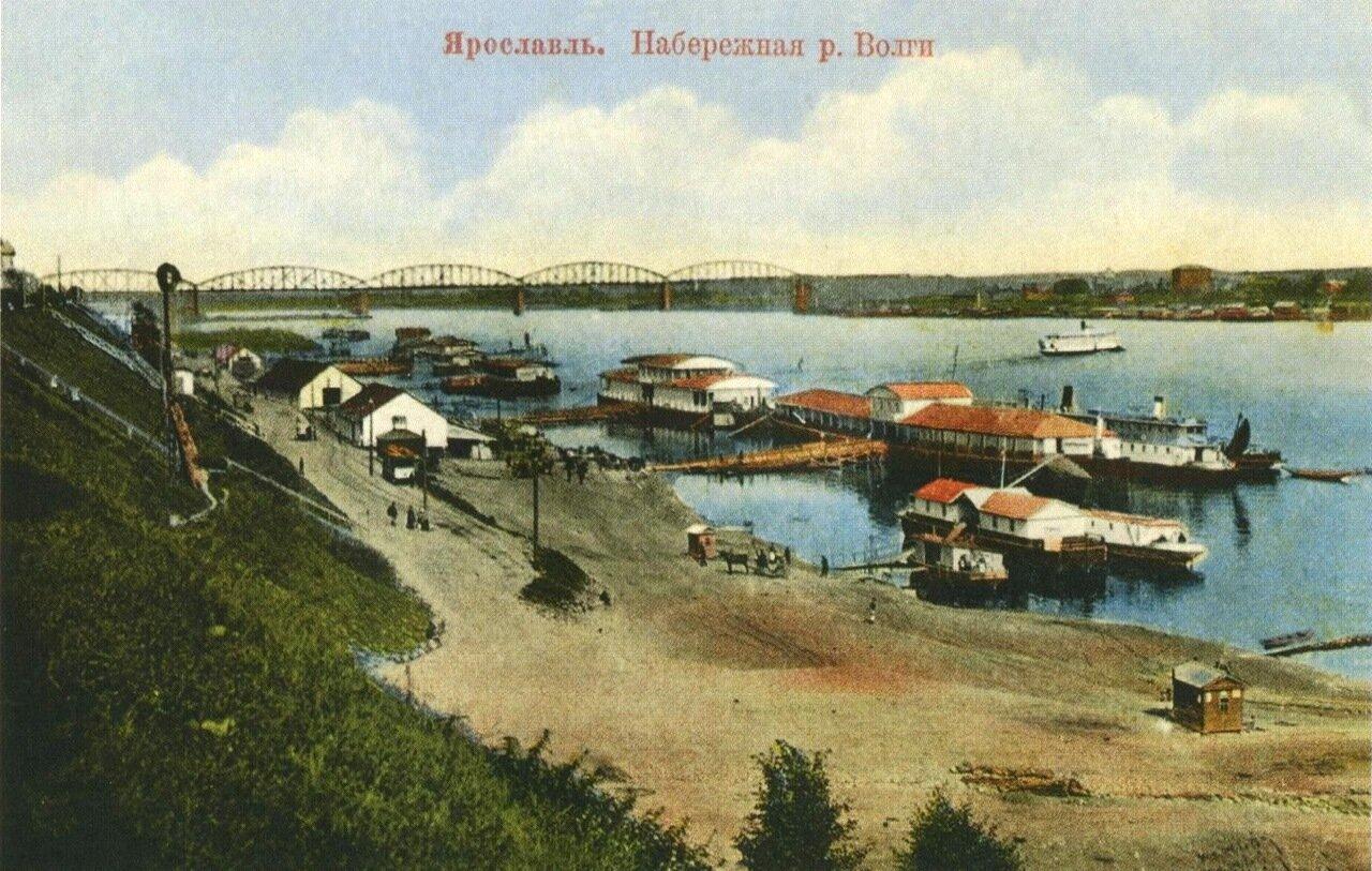 Правый берег Волги.