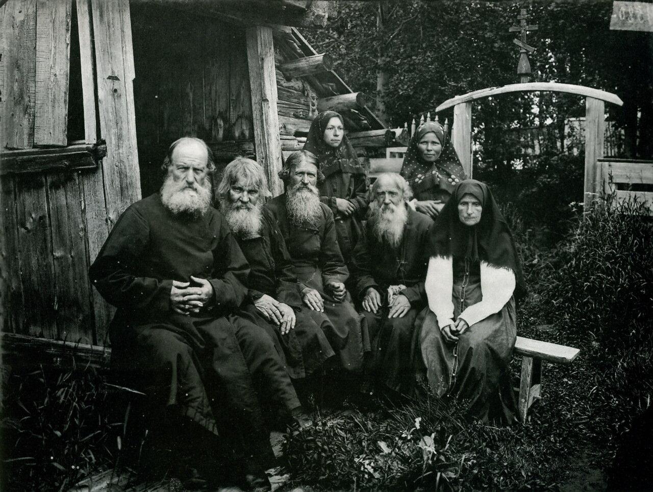 Шарпанский скит в Семеновском уезде. 1897.