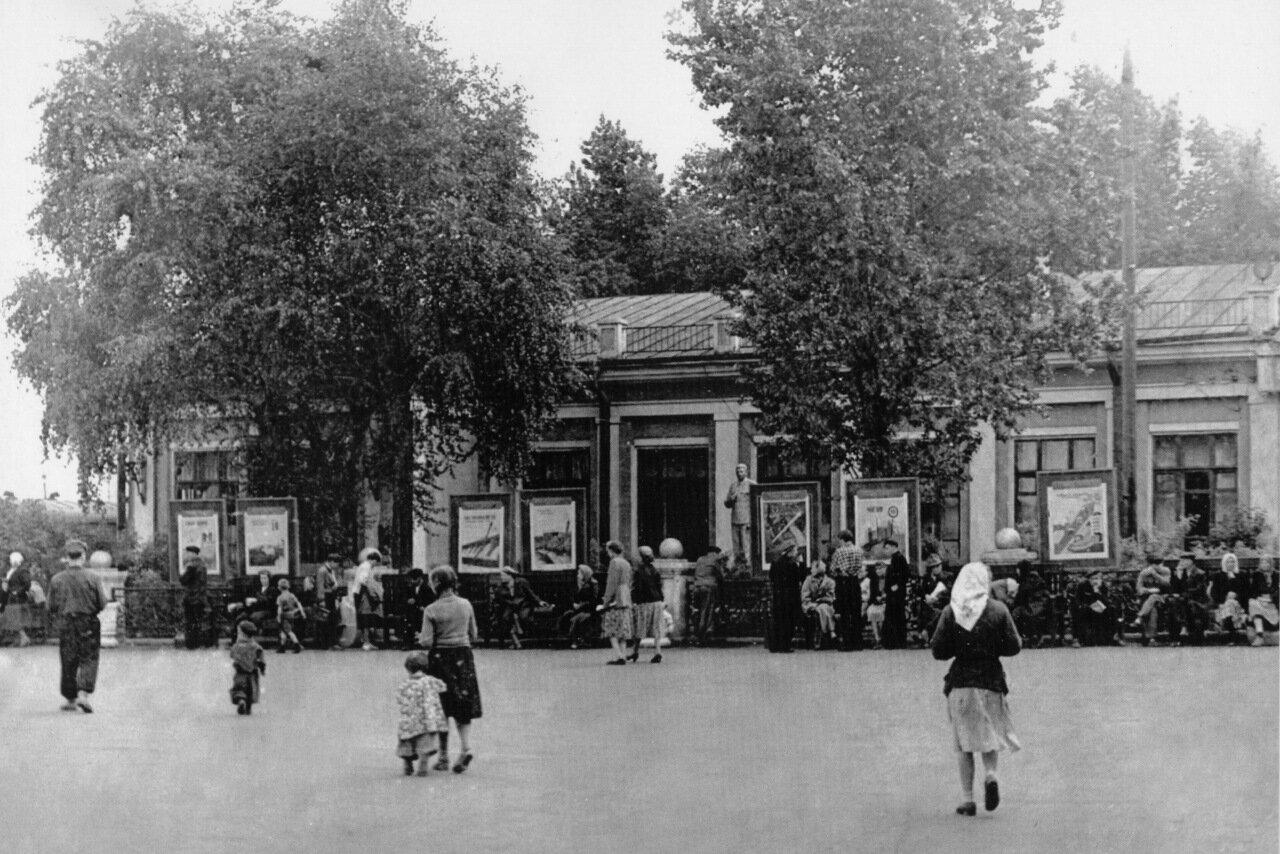 Вокзал ст. Новокузнецк. 1954 год