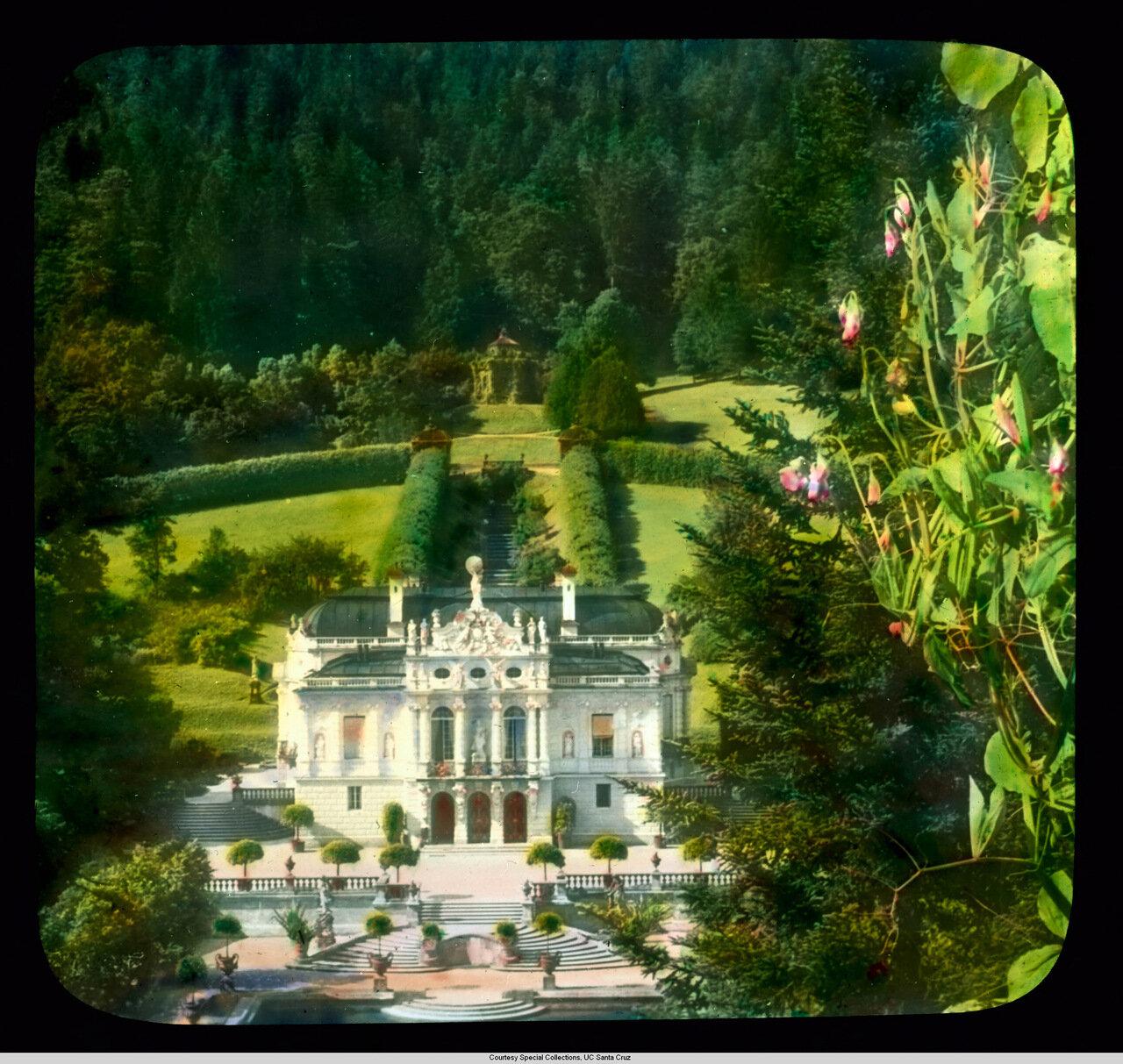 Бавария. Дворец Линдерхоф