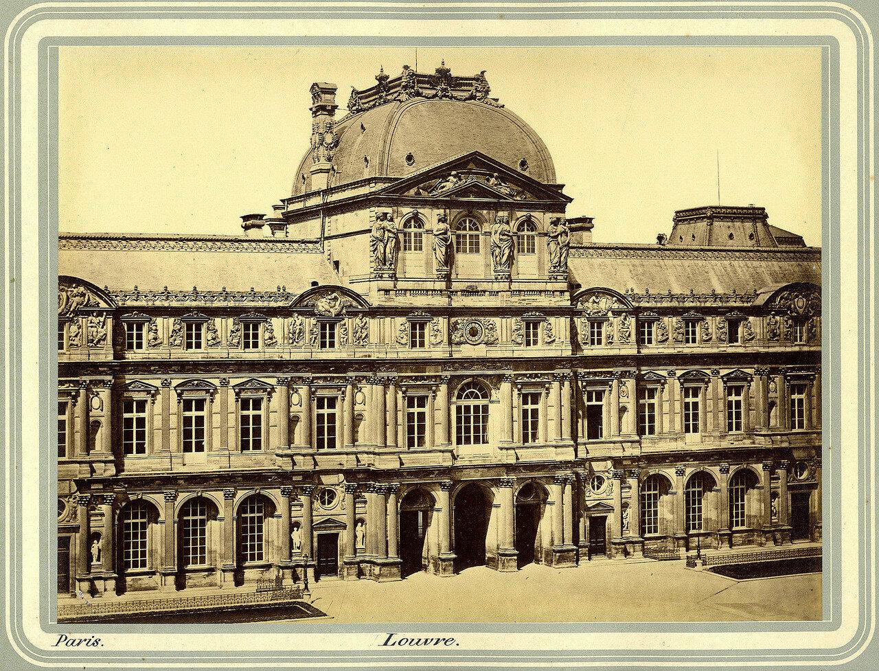 1850-е. Павильон Часов. Лувр
