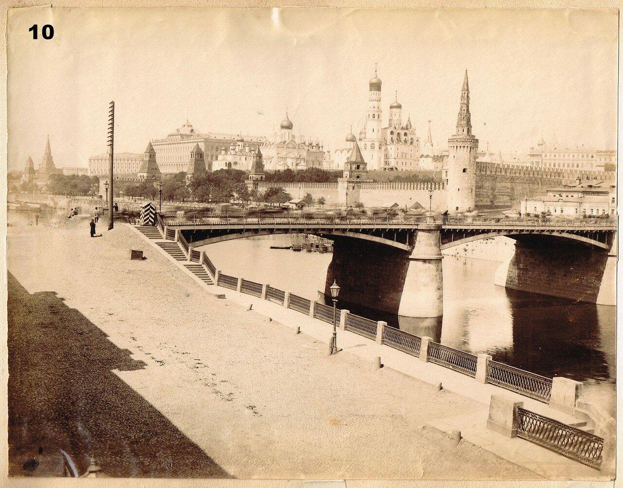 659.Вид на Москворецкий мост и Кремль