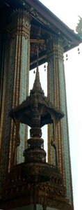 Анна Печенова, Тайланд, Храм Изумрудного Будды