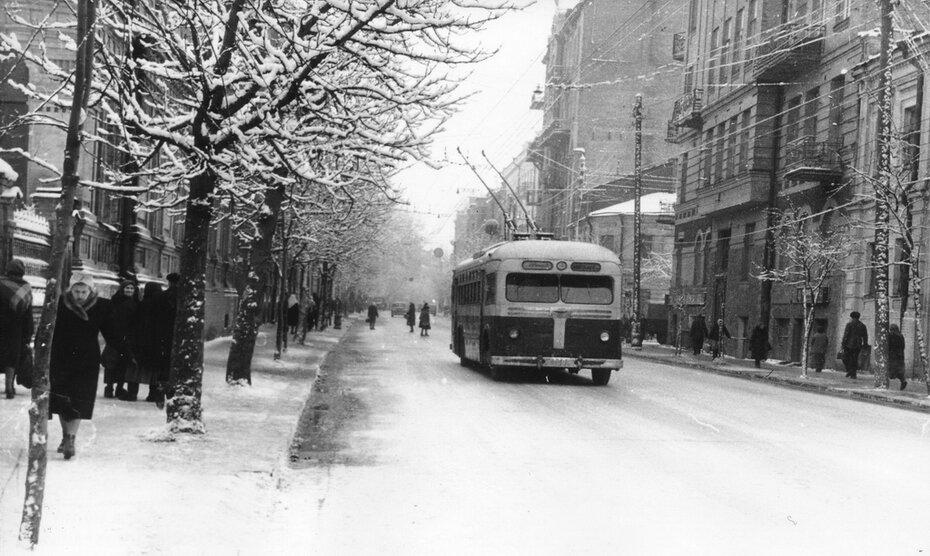 1950. Улица Большая Житомирская
