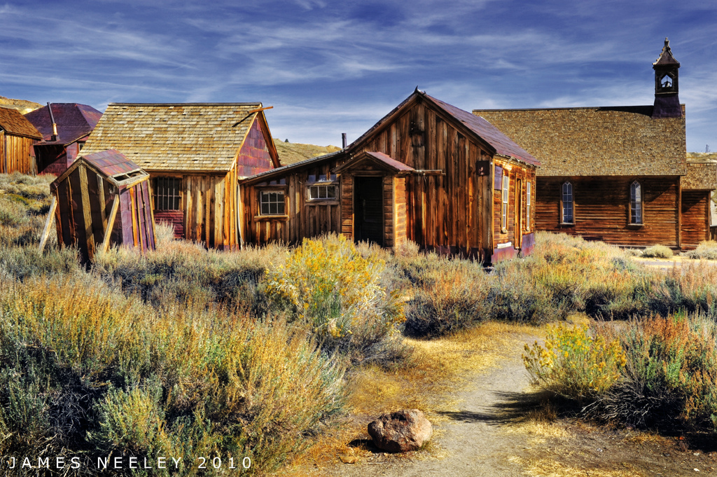Ghost Towns by James Neeley