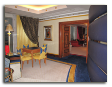 ОАЭ. Дубаи. Burj Al Arab. Deluxe suite 2-bedroom