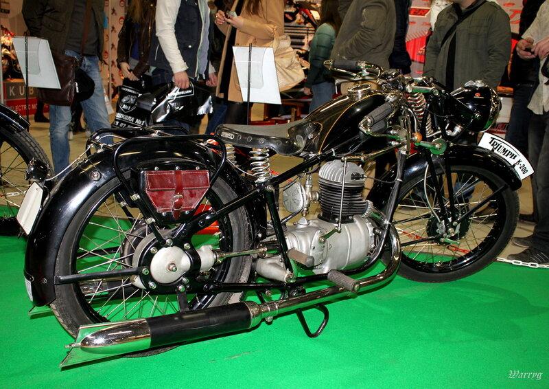 Мотоцикл Triumph K-200 1936 г. в.