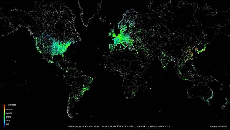 Все устройства подключенные к интернету