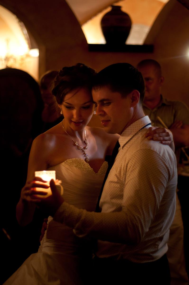 Танец со свечой