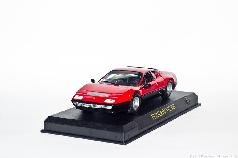 Ferrari Collection №33 512 BB фото модели, обсуждение