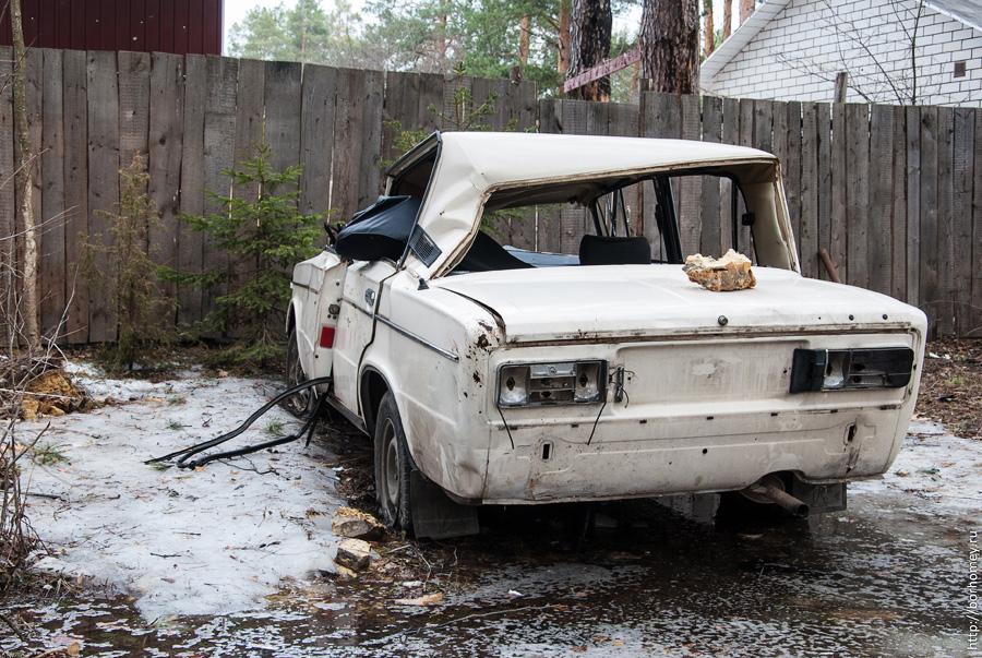 автомобиль разбитый