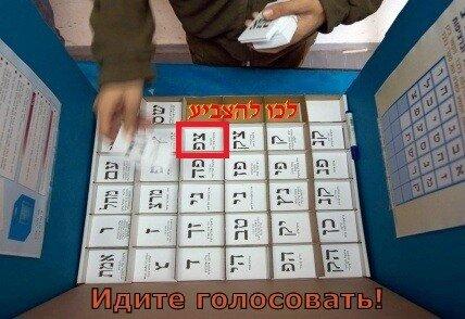 לכו להצביע