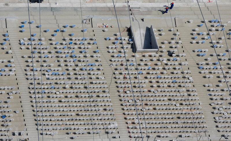Стадион Маракана готовится к чемпионату мира 0 d9b77 587be1ea XL чемпионаты футбол фотографии стадионы Рио де Жанейро реконструкции Маракана Бразилия