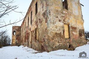 Быховский замок, руины величия