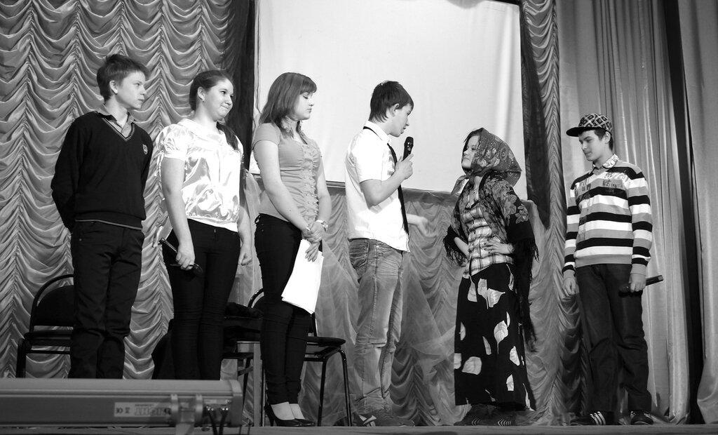 Команда из Ривзаводской школы
