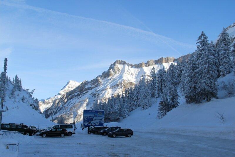 Зимняя Швейцария
