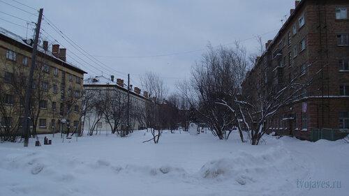Фото города Инта №2740  Гагарниа 5, 3, 1 и 13 31.01.2013_13:14