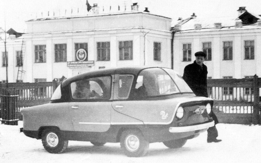 Фото из архива Костарева Николая Наумовича