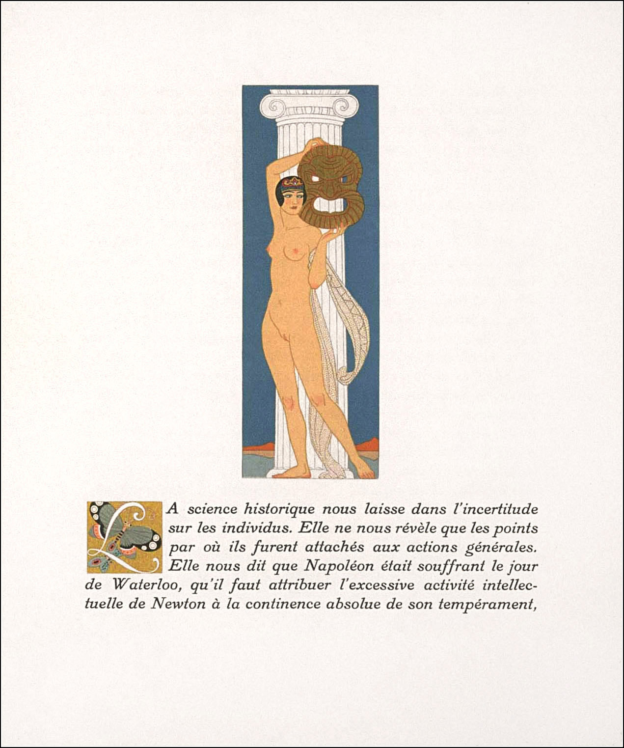 George Barbier, Vies imaginaires