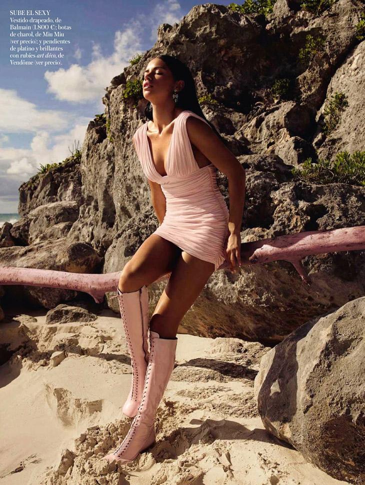 Адриана Лима на обложке майского номера Vogue Spain 2014