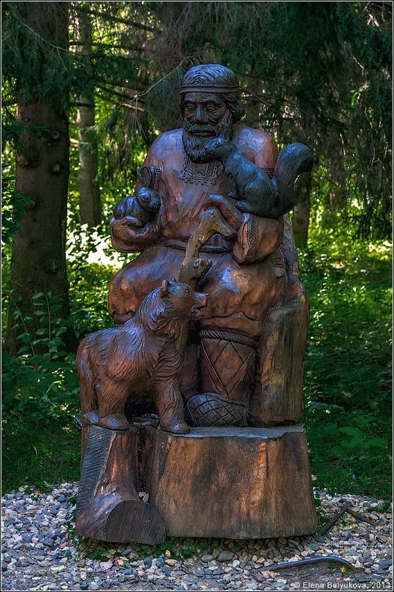 Деревянная скульптура Переславля