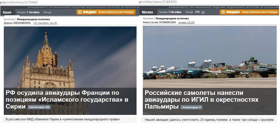 """Более 70% россиян одобряют авиаудары по Сирии, но не исключают, что конфликт перерастет в """"новый"""" Афганистан, - опрос - Цензор.НЕТ 3239"""