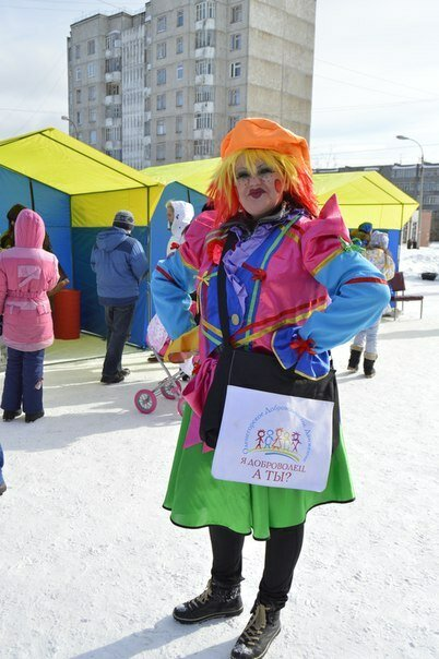 """""""Марафон добра"""" в Оленегорске."""