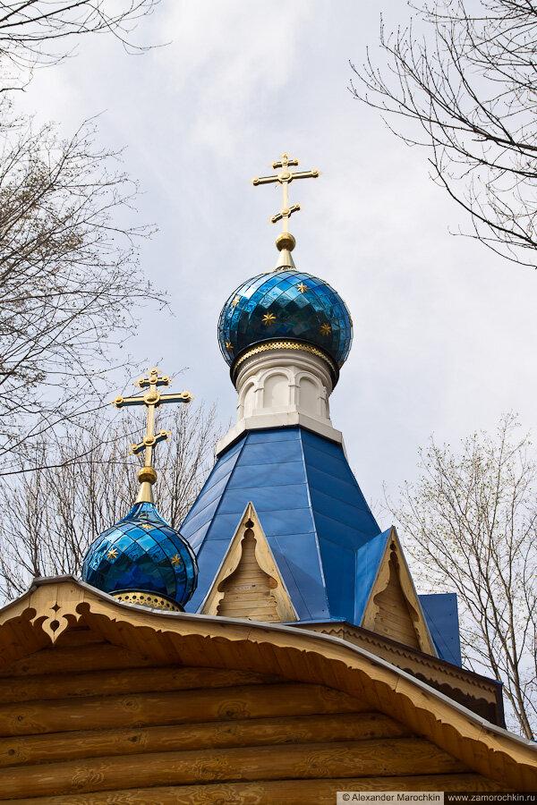 Фрагмент церкви иконы Божьей Матери Афонская в Макаровском монастыре Саранск