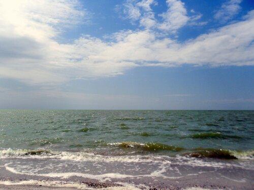Июль, у моря