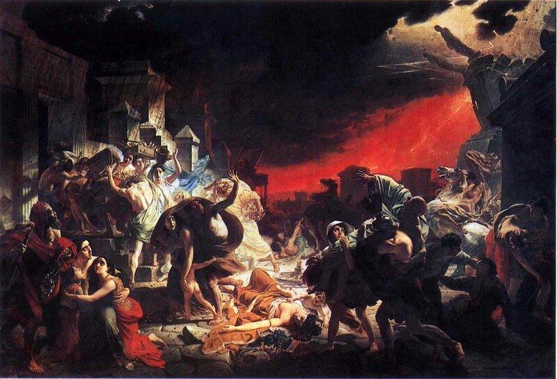 Карл Брюллов, живопись, Последний день Помпеи