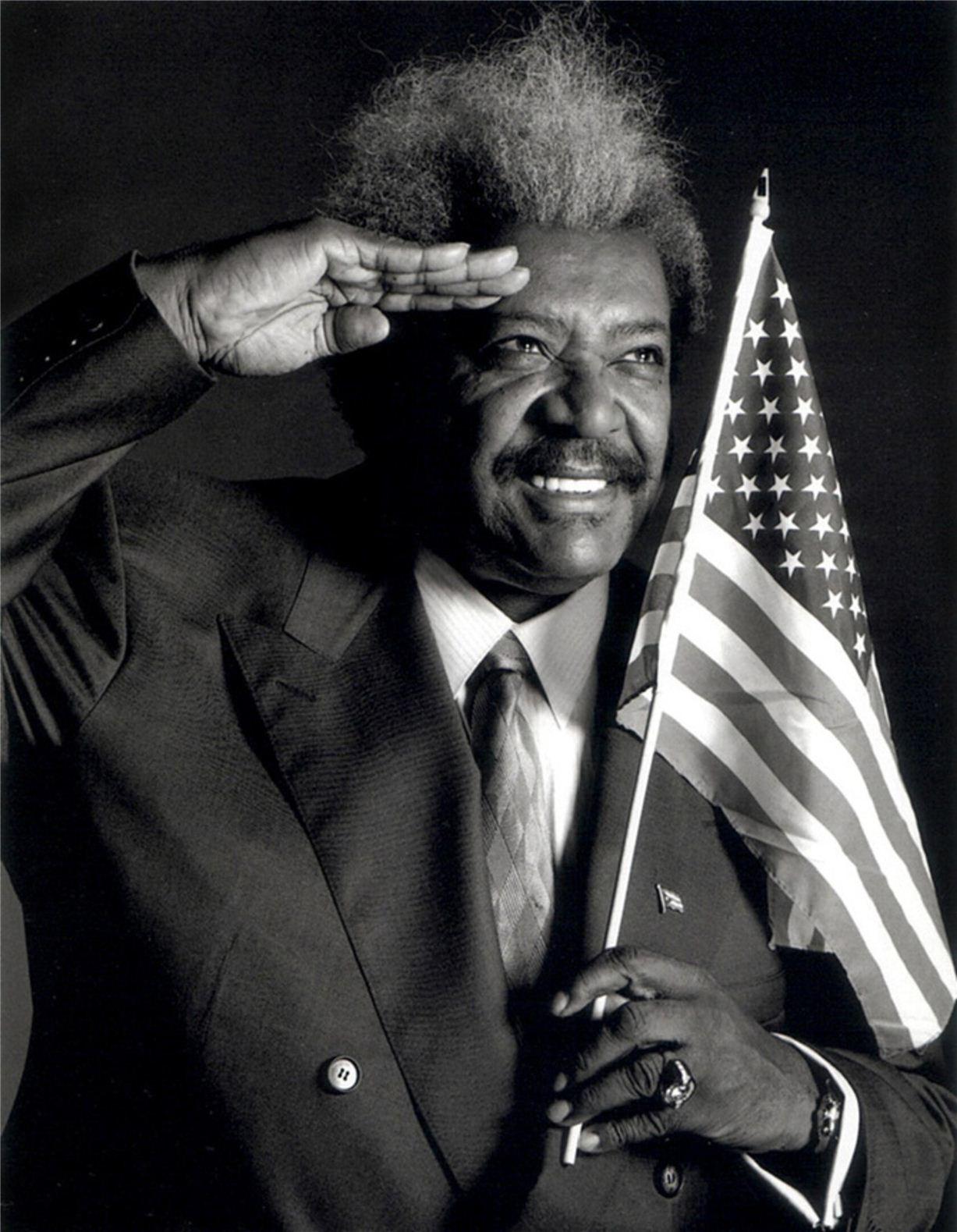 Don King / Дон Кинг - портрет фотографа Грега Гормана / Greg Gorman