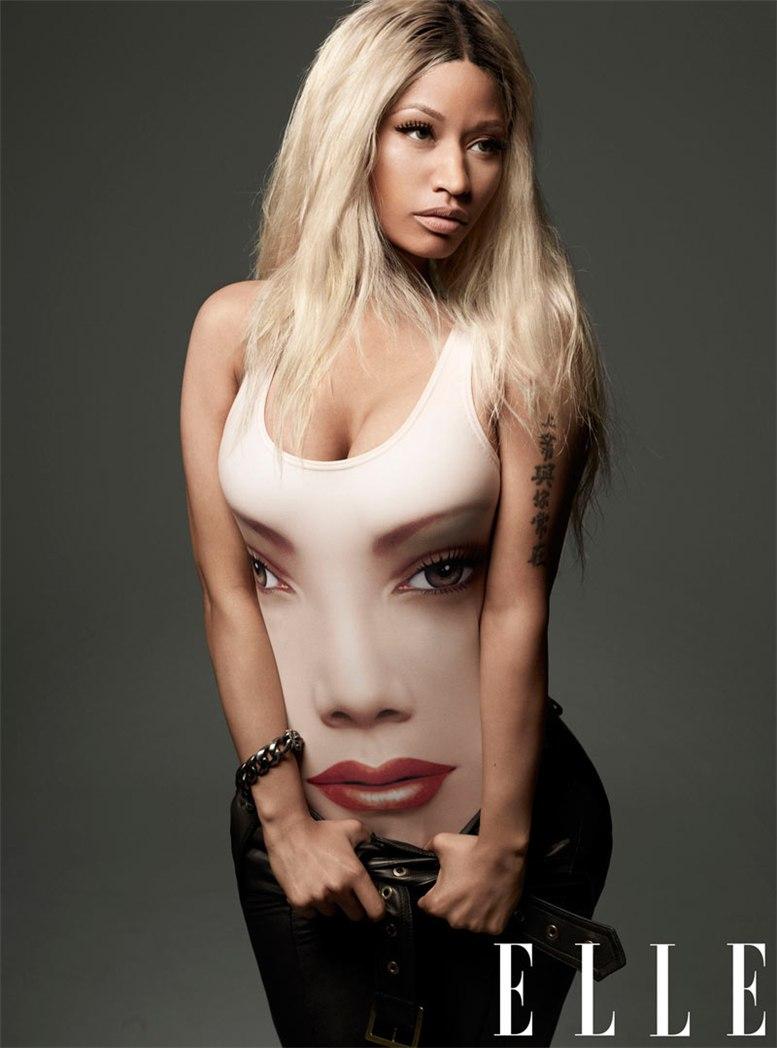 модель Ники Минаж / Nicki Minaj, фотограф Thomas Whiteside