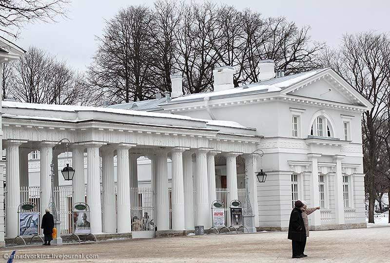 Конюшенный корпус Елагиноостровского дворца-музея