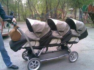 Семьи, в которых родились  тройняшки, получат новые квартиры